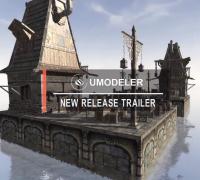 【Unity U3D】UModeler