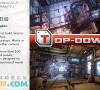 Unity3d 科幻室内场景模型下载