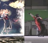 《鬼泣5》的过场动画的预演花絮