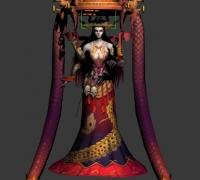 完美世界楚汉传奇动作模型源文件一套 仙侠.主角-坐骑-怪物-BOSS-宠物-NPC齐全。全...