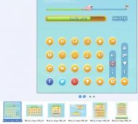 移动游戏UI设计 含PSD文件