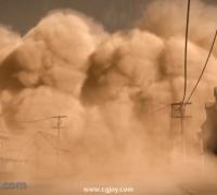 沙尘暴效果制作