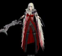 嗜血代码 Eva 角色模型 有T-pose 全贴图