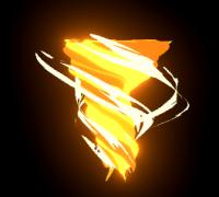 unity3D卡通龙卷风