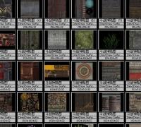 游戏贴图资源 游戏美术资料 网游场景素材 游戏场景贴图素材