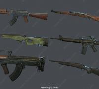 各类枪械武器