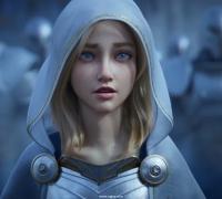 英雄聯盟2020新CG:戰士