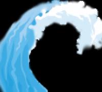 卡通水 海浪贴图 两张