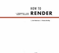 how to draw how  to render 两本全集,PDF汉化版,配套视频