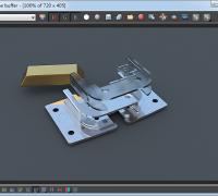 单金属模型产品(vray)渲染教程