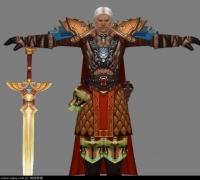 巫师之怒游戏男角色模型