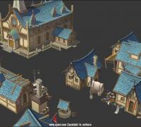 星蓉腾3D手绘场景有档期 有作品 接受测试 可开专票