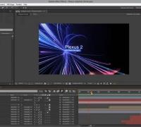 AE教程:使用 Plexus 2 插件创建缤纷三维粒子光线