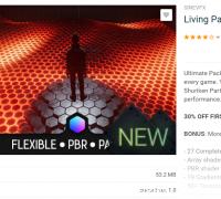 Living Particles 1.1 非常酷的粒子效果工程包