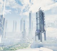 UE4 虚幻引擎 《未来之城》项目资源分享