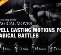 一些Iclone7资产 Studio Mocap Magical Move