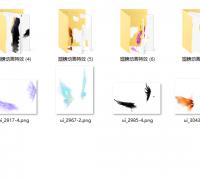 分享幾個翅膀動畫特效序列幀