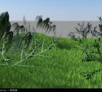 樹木小草模型