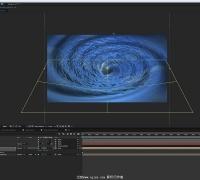 AE教程 使用 FreeForm Pro 插件制作真实水流漩涡特效