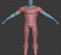 金典男女人物模型
