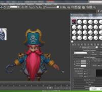 第一期高级3D角色模型设计公开课(2)高清视频下载地址——雷神老师