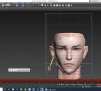 BonesPor进阶教程的飘带和面部的蒙皮,专门对萌新遇到的问题进行细讲