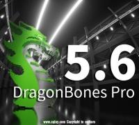 龙骨 DragonBones Pro 5.6 发布了!!!