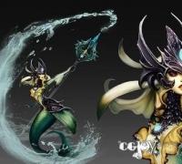 Unity3d 英雄聯盟 娜美模型下載