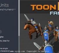 unity3d 即時戰略游戲士兵模型包下載