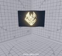 Unity AmplifyShaderEditor遮罩流光顶点偏移练习