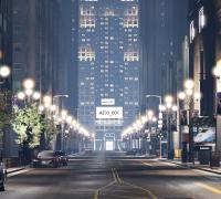 UE4夜景城市场景 全过程演示