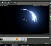 星星  虚幻4(UE4)教程- 使用序列图制作刀光特效
