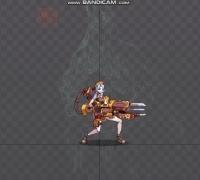 spine动画三,机械枪变形
