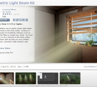 unity體積光Volumetric_Light_Beam_Kit_1.0