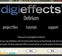Digieffects Delirium(DE插件)for ae cs3-cc各版本+安装方法