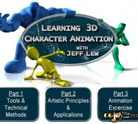 三维角色动画教程 (Learning 3D Character Animation)[ISO]