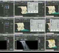 Krakatoa和FumeFX PFLOW 瀑布 制作教程