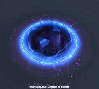 如何做一个炫酷的水晶传送门特效效果