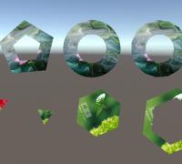 unity 插件自定义多边形图案