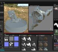 Substance Painter模型贴图绘制视频教程