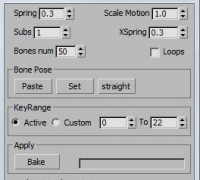 3dmax 飘带脚本插件更新 springmagic_1.1