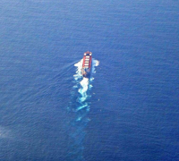 HOUDINI制作船航行水面波纹案例
