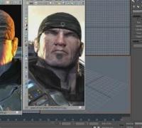 3dmax建模教程:如何制作次时代游戏角色的头部高模