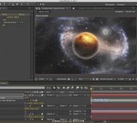 AE教程:制作漂亮宇宙夜空