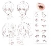 【精華】日式眼睛怎么畫?超簡單的日式眼睛的畫法教程!