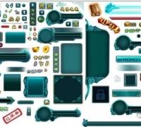 多个游戏的UI合集