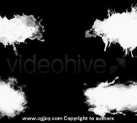4K级中国风水墨水彩和笔刷主题的视频素材