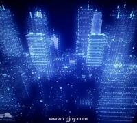 AE城市光影舞蹈制作效果教程