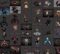 又是剑灵?70+怪物角色模型 带全套动画