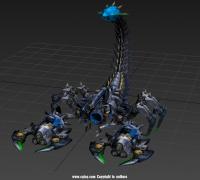 机械蝎子rig